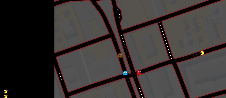 Zagraj w Pac-Mana na swojej ulicy w Google Maps