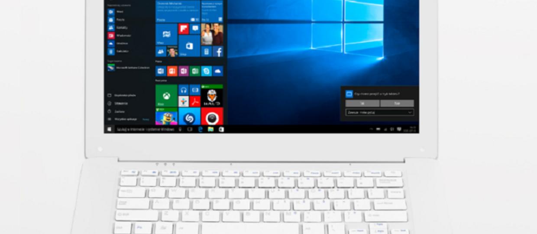 Kiano SlimNote 14.1 – laptop za 599 zł z Biedronki