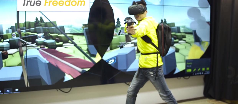 Komputerowy plecak na podróż do Wirtualnej Rzeczywistości