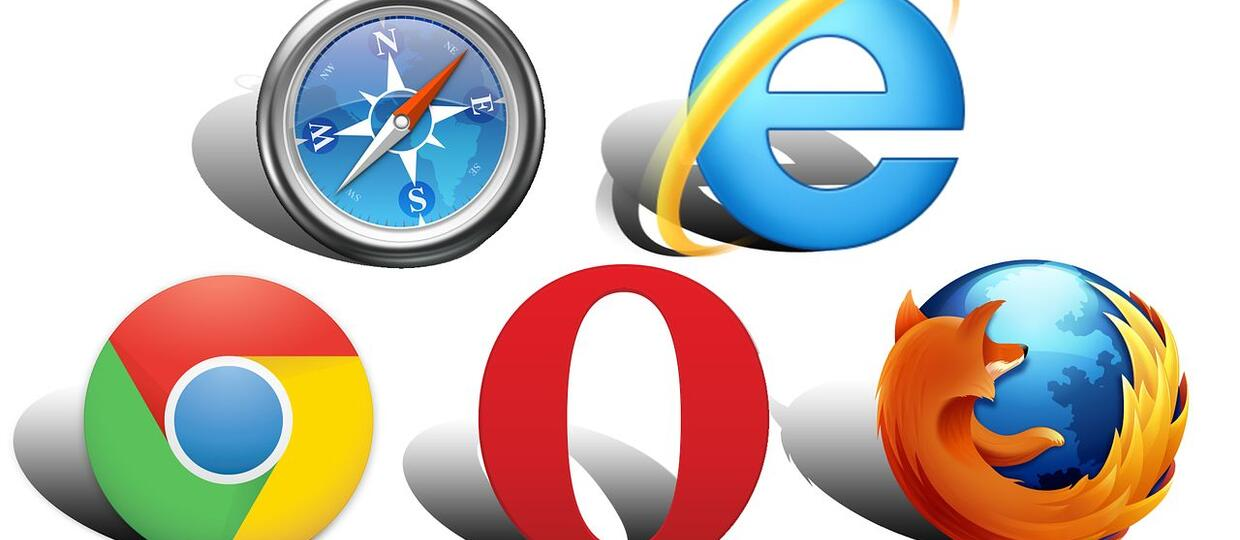 chrome, Firefox, Opera, Internet Explorer, Safari