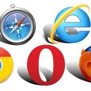 chrome, Firefox, Opera, Internet Explorer, Safari