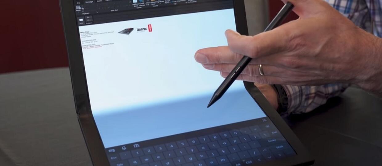 Lenovo ThinkPad X1 z elastycznym ekranem
