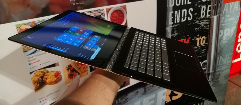 Lenovo Yoga 900S wygina się w tablet