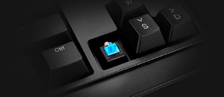 Mechaniczna klawiatura dla graczy