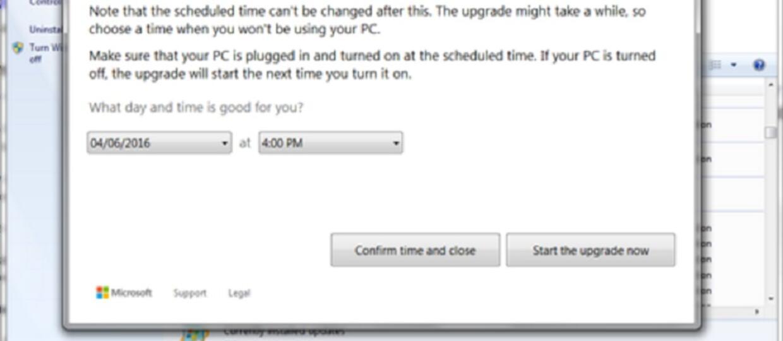 Microsoft nie da uciec przed aktualizacją do Windows 10