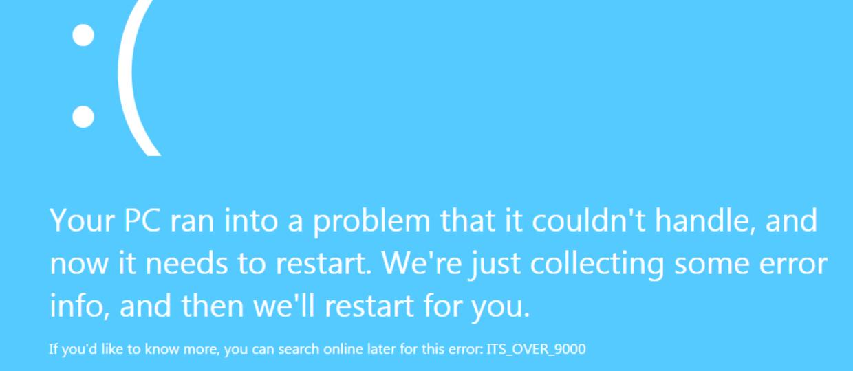 Odkryto błąd zawieszający Windows - wystarczy wejść na stronę www