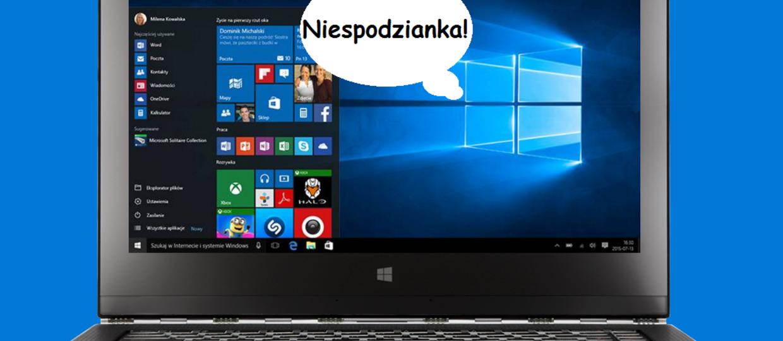 Twój komputer może właśnie instalować Windows 10