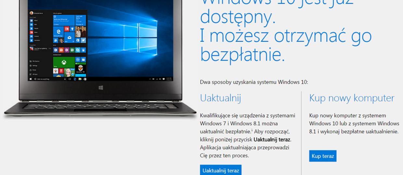 Windows 10 instaluje się bez pozwolenia