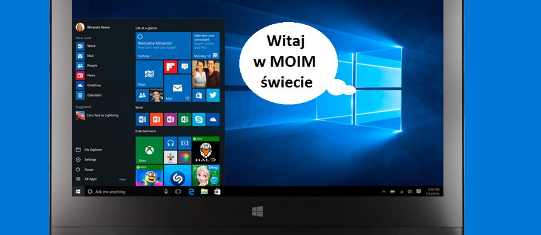 Windows 10 zmienia domyślne programy na własne