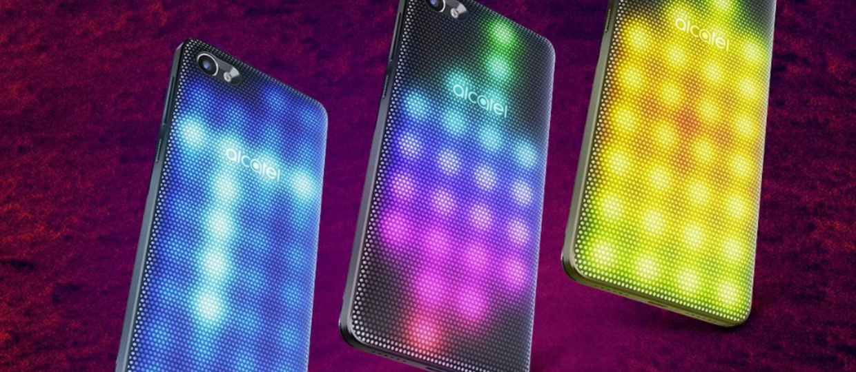 Alcatel pokazał smartfona z dyskoteką w obudowie