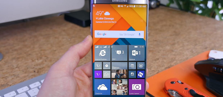 Android i Windows w jednym stali smartfonie?