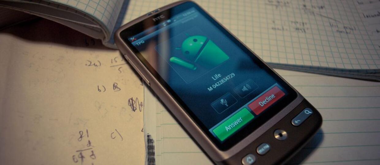 rozmowa na Androidze