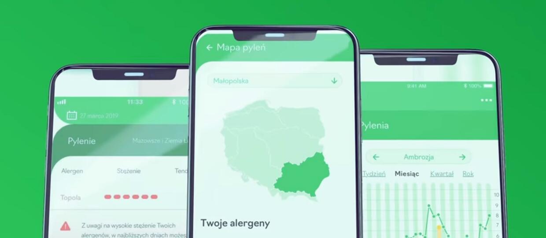 aplikacja dla alergików