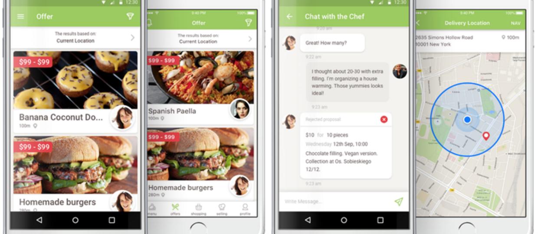 Aplikacja do sprzedawania swojego obiadu
