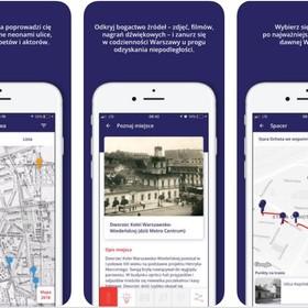 aplikacja do zwiedzania Warszawy
