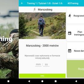 Aplikacja #OTrening przygotowuje do obrony terytorialnej