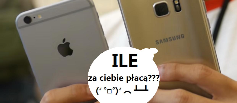 Apple masakruje Samsunga na Allegro