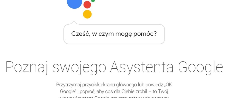 Asystent Google wprowadził się do Polski