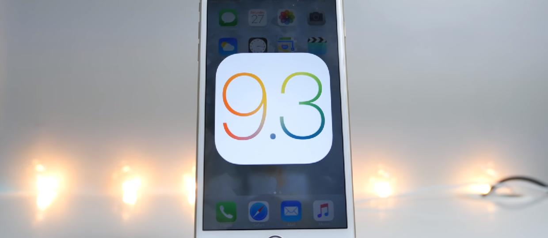 Co nowego w systemie iOS 9.3?