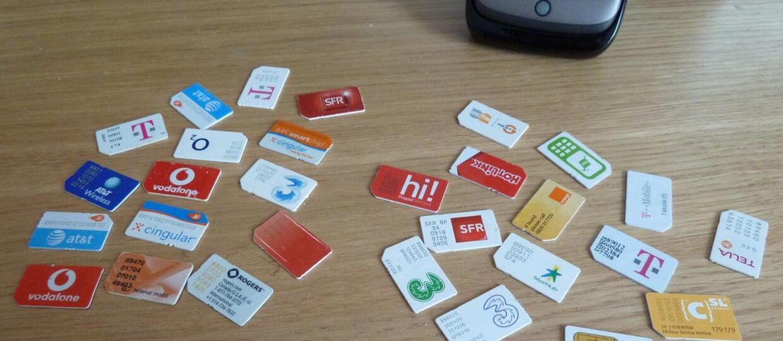 Czarny rynek kart SIM już kwitnie