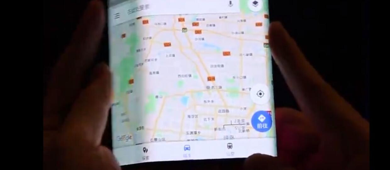 Zginany smartfon Xiaomi