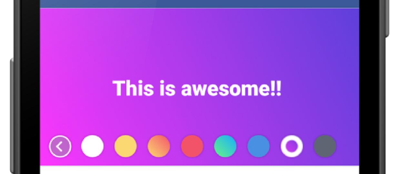 Facebook wprowadza kolorowanie postów