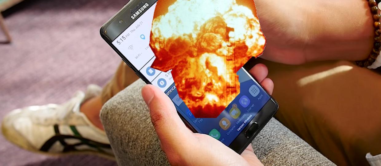 Galaxy Note 7 wybucha, Samsung wstrzymuje sprzedaż