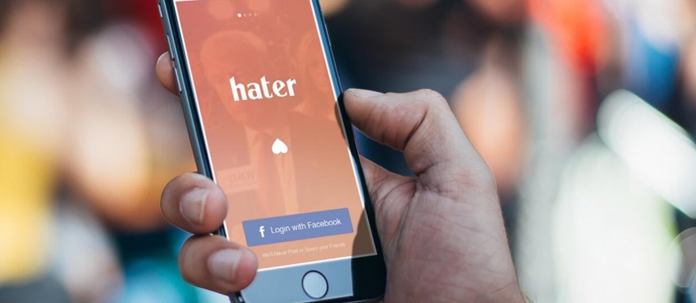 Hater pomaga znaleźć nienawiść na całe życie