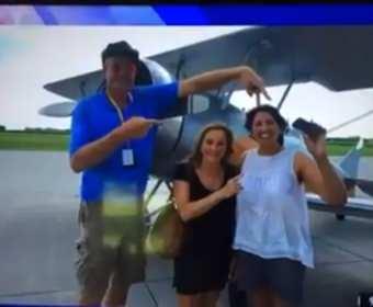iPhone po upadku z samolotu