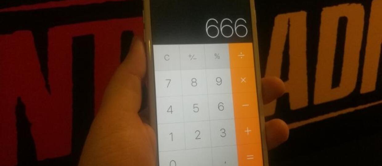 Kalkulator w iPhonie podaje błędne wyniki