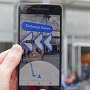 tryb Live View w Mapach Google