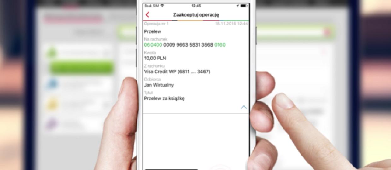 mBank zastępuje hasła SMS aplikacją mobilną
