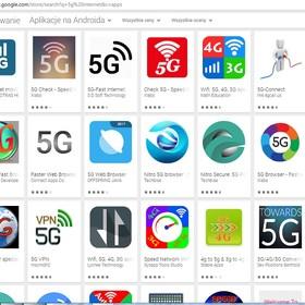 aplikacje 5G