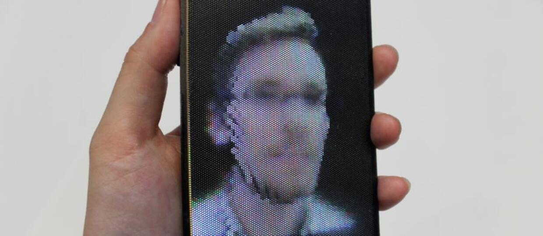 Obraz 3D na giętkim ekranie stał się rzeczywistością
