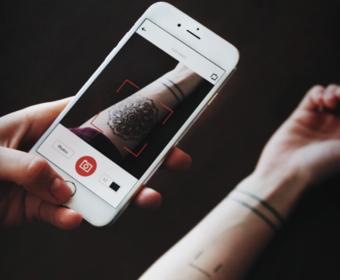 Ink Hunter w iPhonie