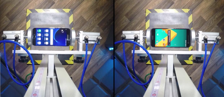Samsung Galaxy S7 kontra HTC 10 – pojedynek na upadki