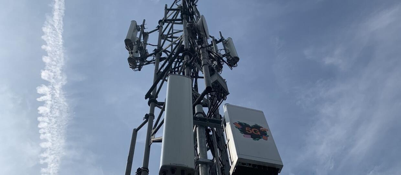 nadajnik 5G Orange w Warszawie