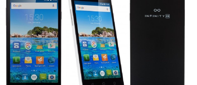 Smartfon myPhone Infinity IIS z Biedronki