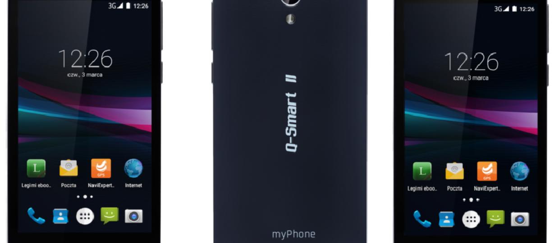 Smartfon myPhone Q-Smart II