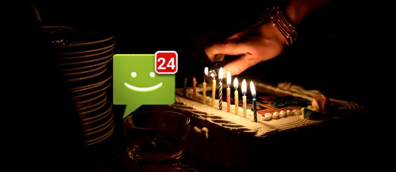 SMS-y świętują urodziny