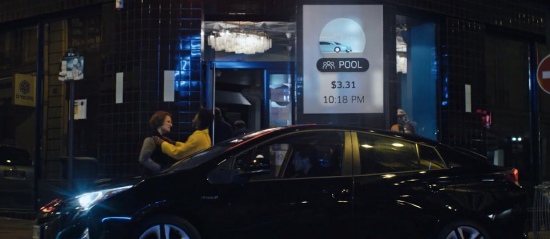 Uber dowiezie wprost w objęcia znajomych