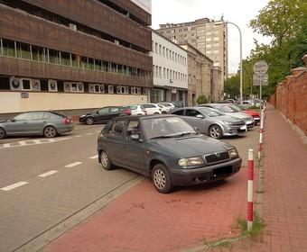 parkowanie na ul Nowogrodzkiej w Warszawie