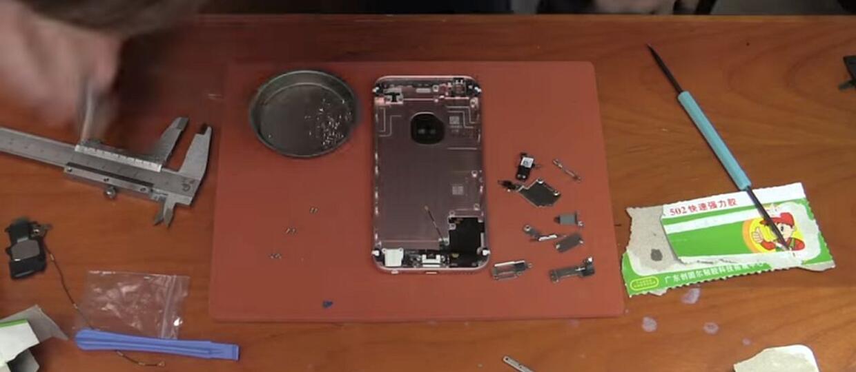 Zbudował sobie iPhone'a 6s śrubka po śrubce
