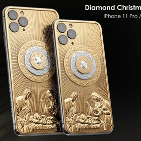 iPhone 11 Pro Diamond Christmas Star