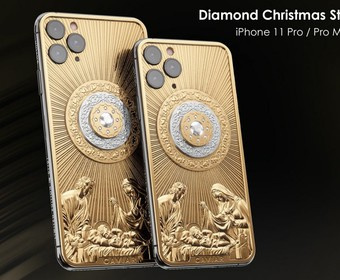 iPhone 11 Pro Diamond Christmas Star