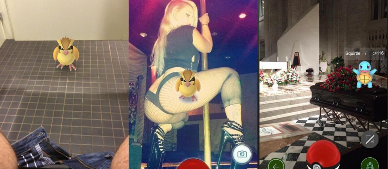TOP 10 dziwnych miejsc, w których pojawiły się Pokemony