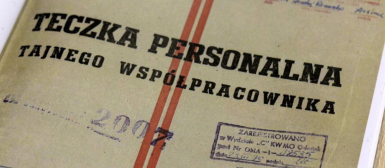 Instytut Sehna zbada dokumenty z teczki TW Bolka