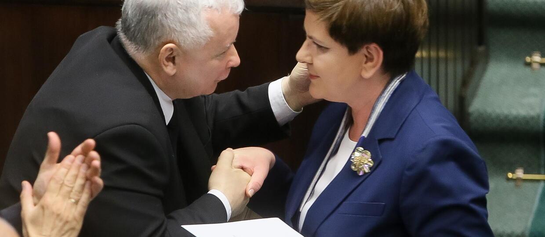 Kaczyński ostro o poprzednikach: Poziom ich rządów osiągnął dno