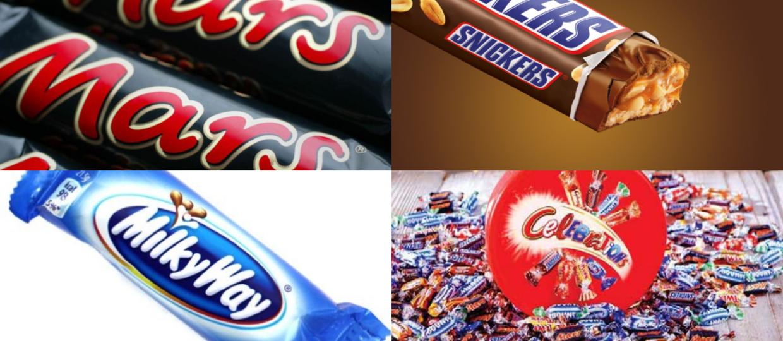 Mars, Snickers i Milky Way wycofane z polskich sklepów