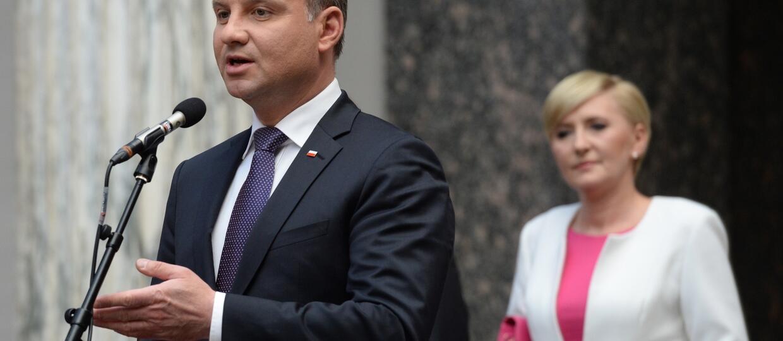 Polacy zadowoleni z prezydenta. Andrzej Duda z najlepszymi ocenami
